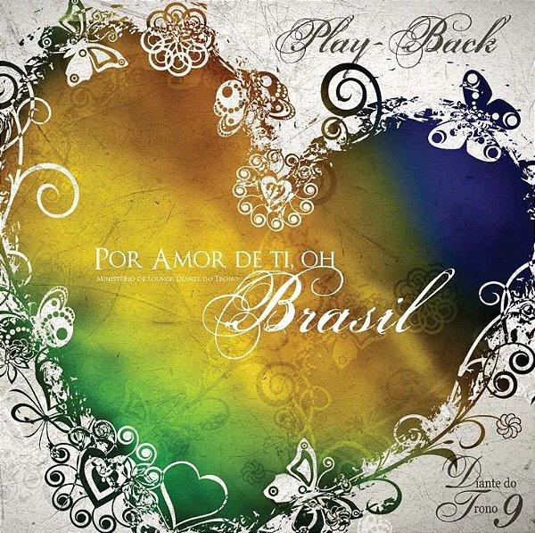CD PLAYBACK DIANTE DO TRONO POR AMOR DE TI BRASIL