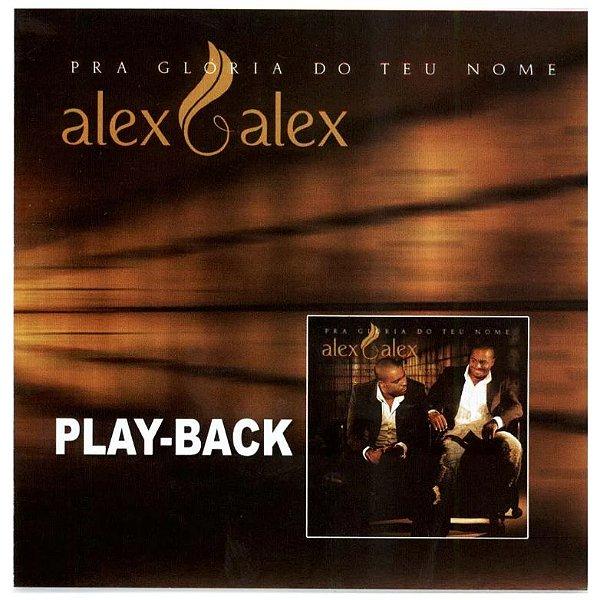 CD PLAYBACK ALEX E ALEX PRA GLORIA DO TEU NOME