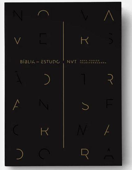 Bíblia de Estudo NVT|Preta|