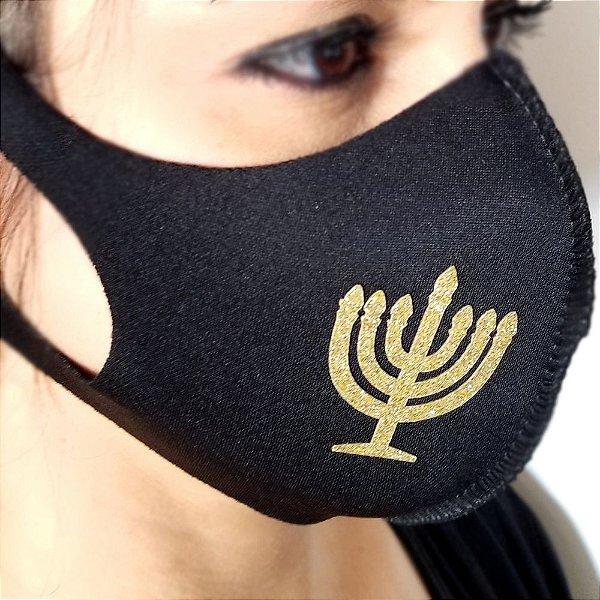 Máscara de proteção Higiênica reutilizável | Judaico |