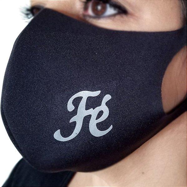 Máscara de proteção Higiênica reutilizável |Fé palavras |