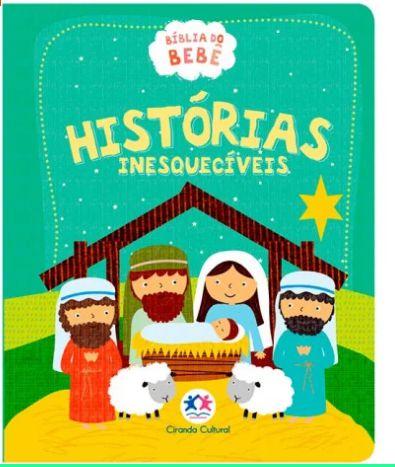Bíblia do BeBê |Histórias Inesquecíveis| Capa Verde|