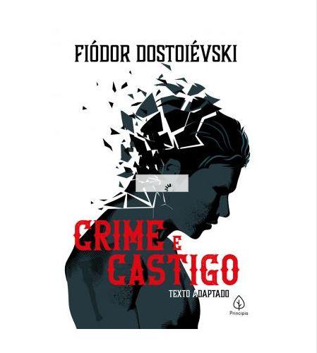 Livro Crime e Castigo  Fiódor Dostoiévski 