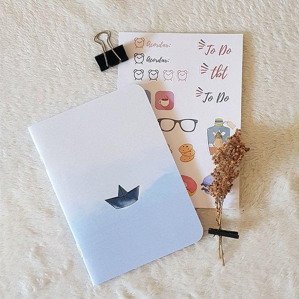 Caderneta Barquinho