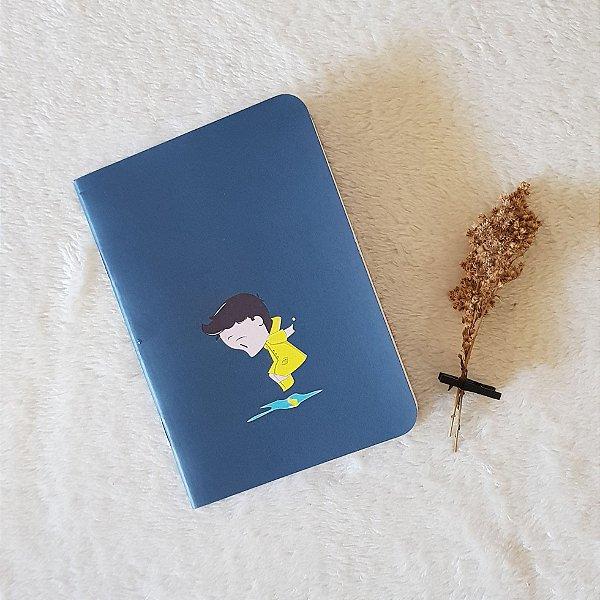 Caderneta Nuno na chuva