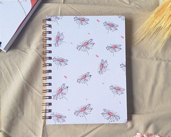 Caderno Aromas Margaridas