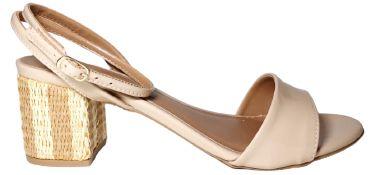 Sandália Salto Grosso Jessy