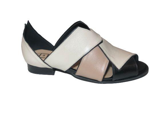 Sapato Matilde Colorido em Couro