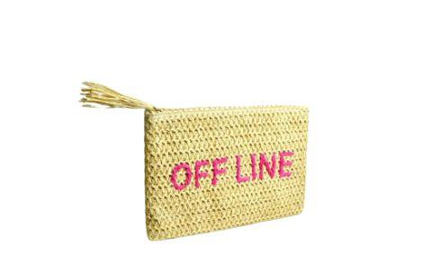 Necessaire de Ráfia Off Line