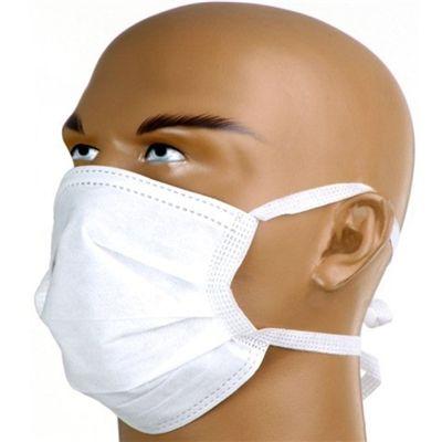 Mascara Cirurgica Tripla com Tiras Pacote C/ 50 Unidades - Nurmed