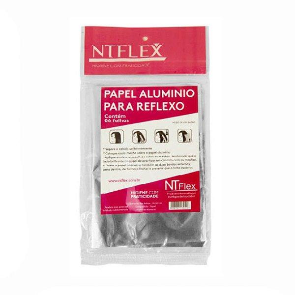 Papel Alumínio Para Reflexo C/ 6 unds - NT Flex