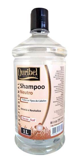 Shampoo Neutro 1 Litros - Ouribel