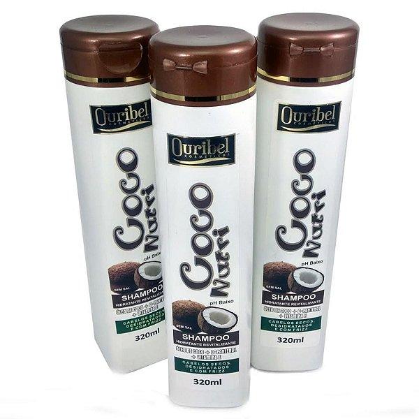 Shampoo Coco Nutri 320 mL - Ouribel