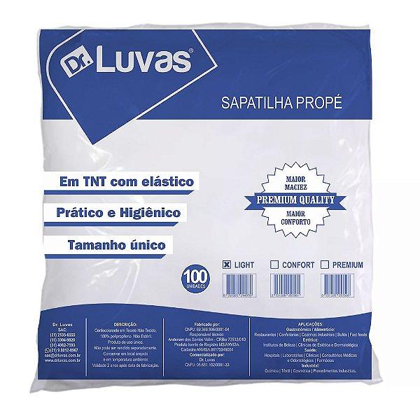 Sapatilha Descartável Propé Light Pct c/ 100 unds - Dr. Luvas