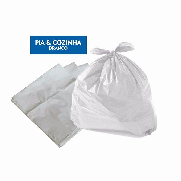 Saco para lixo Pia & Cozinha Branco Pct C/ 100 Unidades - Dr. Luvas
