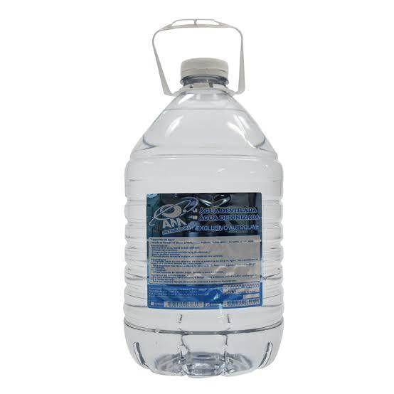 Agua para Autoclave 5 Litros Cx c/ 4 Galões - AM