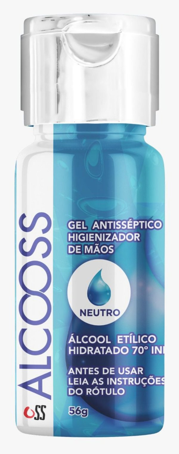 Álcool em gel anti-séptico 56g - OSS