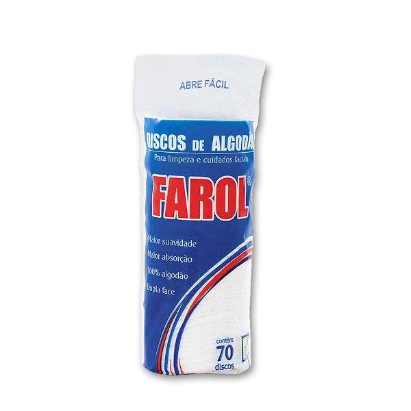 Algodão Disco - Farol