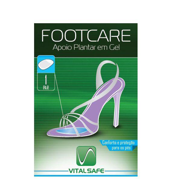 Apoio Plantar em gel - Footcare Vital Safe