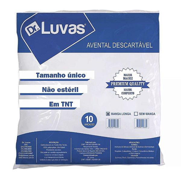 Avental Manga Longa TNT Gramatura 20 - Dr. Luvas
