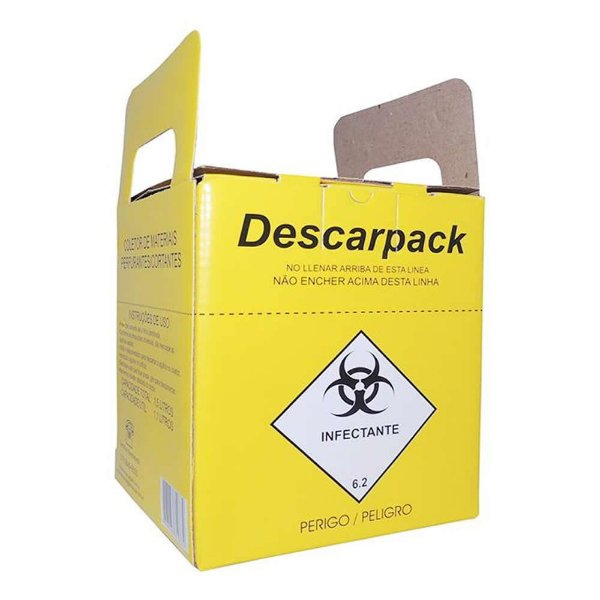 Caixa Coletora Descarpack 3 Litros