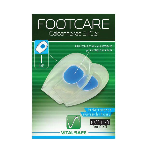Calcanheira Siligel Masculina - Footcare Vital Safe