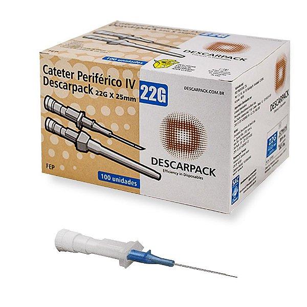 Catéter Intravenoso Cx c/ 100 unds - Descarpack