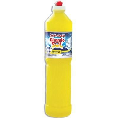 Detergente Líquido Lava Louça Neutro 500 ml - Jasmin