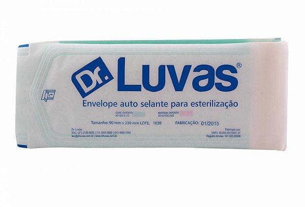Envelope Auto Selante 90mmx230mm Cx c/ 25 pcts - Dr. Luvas