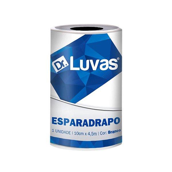 Esparadrapo Impermeável 10cm x 4,5m Cx c/ 24 Rolos - Dr. Luvas