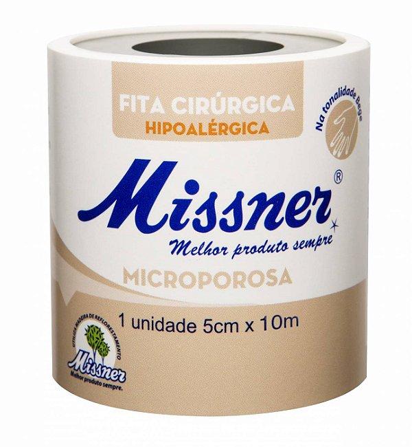Fita Microporosa Bege 5cm x 10m - Missner