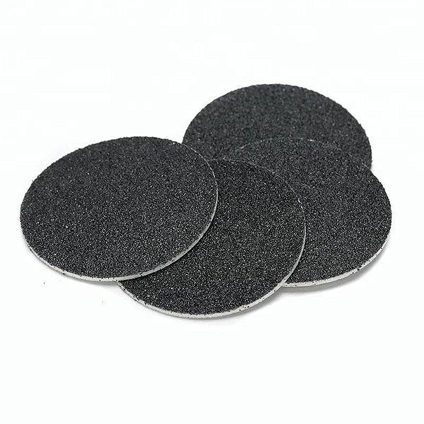 Lixas Disco Descartáveis Para Pedicure Refil Preto - NT Flex