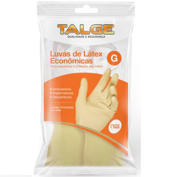 Luva de Látex ECO Pct C/ 1 par - Talge