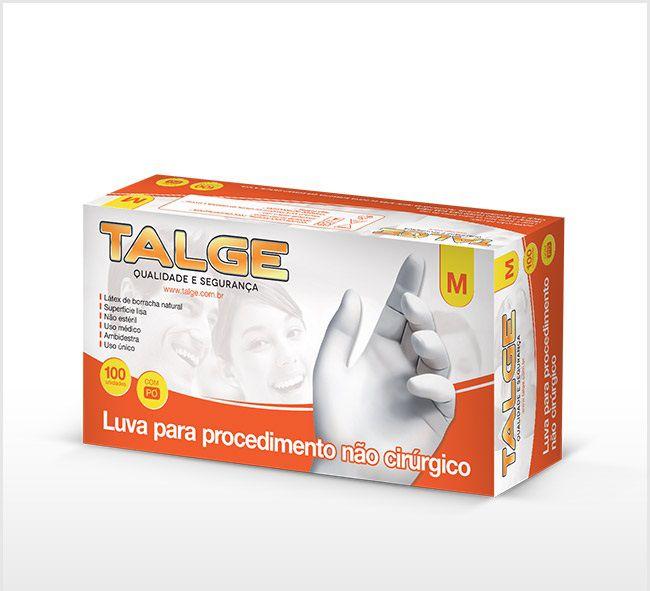 Luva de Procedimento Látex - Talge