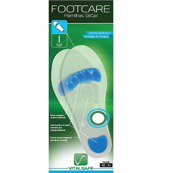 Palmilha Siligel Tamanho 40-41 - Footcare Vital Safe