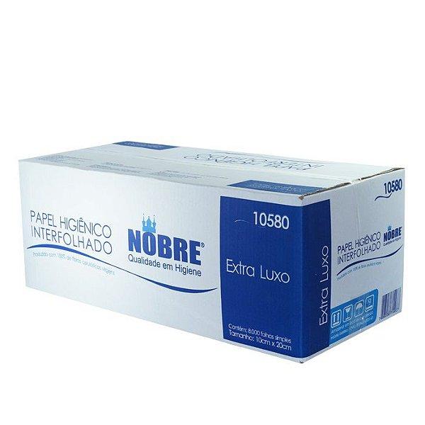Papel Higienico Cai-Cai 100% Celulose Cx c/ 8000 Fls - Nobre
