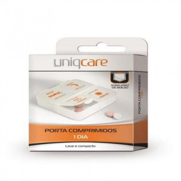 Porta Comprimidos - Uniqcare