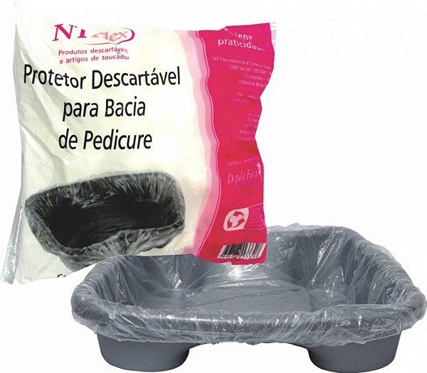 Protetor de Bacia Pedicure c/ 50 unds - NT Flex