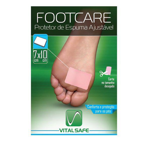 Protetor de Espuma Ajustável - Footcare Vital Safe