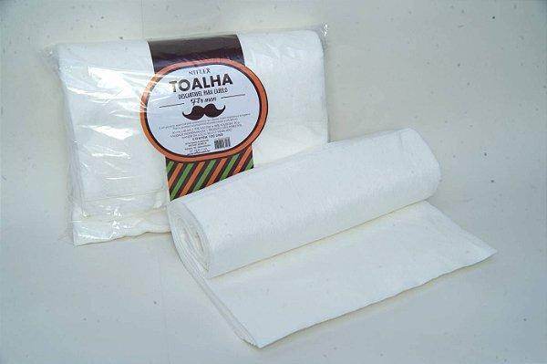 Toalha Para Cabelo For Men 30x40 C/ 50 Unds - NT Flex