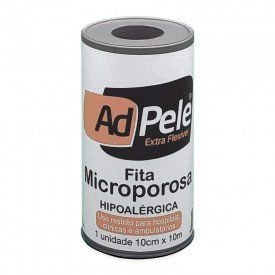 Fita Microporosa Branca 10cm x 10m - Adpele