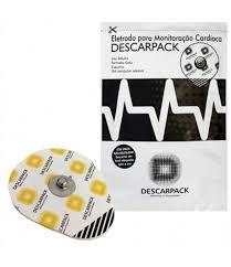 Eletrodo para Monitoração Cardíaca Adulto Pct c/ 50 unds - Descarpack