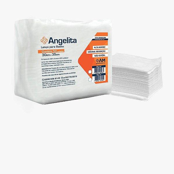 Lenço Para Banho Angelita 30 x 35 50G - America