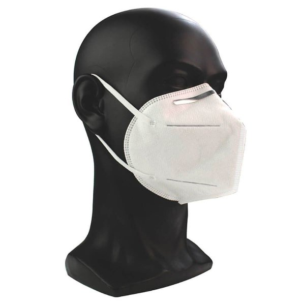 Máscara de Proteção KN95 Pct c/ 5 Unds -  Supermedy