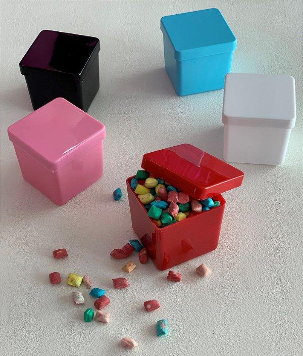 Caixinha De Acrilico 5x5 - Pacote com 10 Cores Fechadas