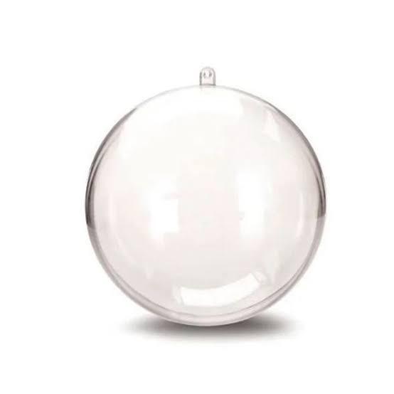 Esfera Acrílica 6,5cm - 100 unidades
