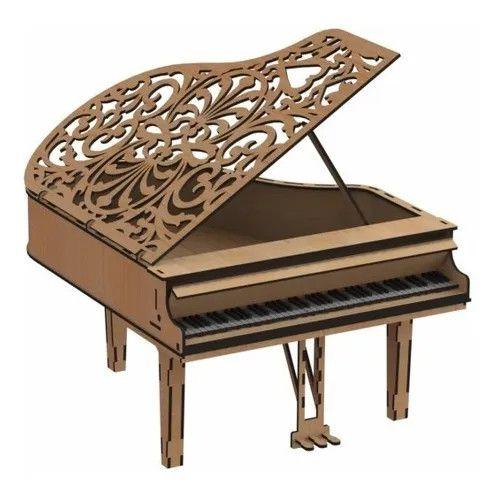 Piano Box. 3D Em MDF