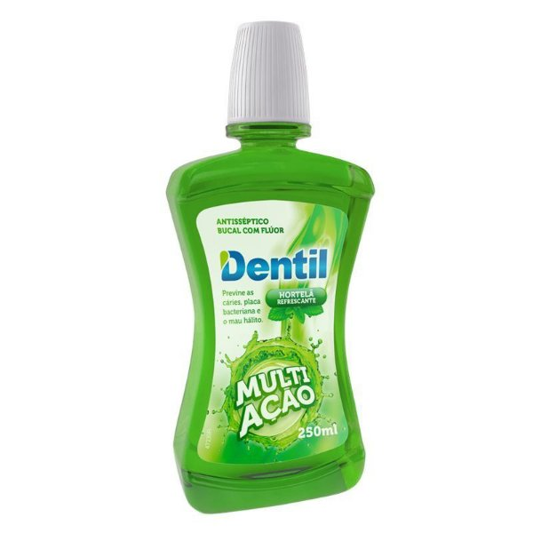 Enxaguante Bucal Dentil Multiação Hortelã 250ml