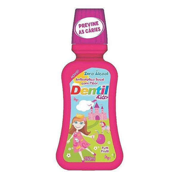 Enxaguante Bucal Dentil Kids Zero Álcool 250ml