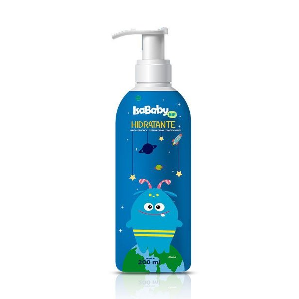 Hidratante IsaBaby Bu Azul 200ml